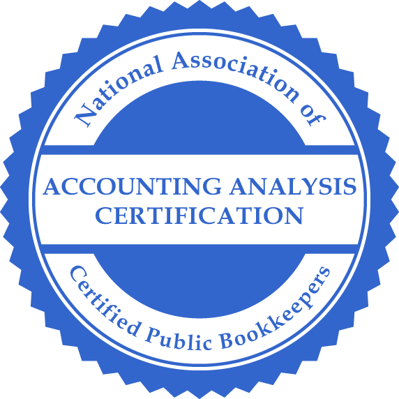 NACPB Accounting Analysis Certification